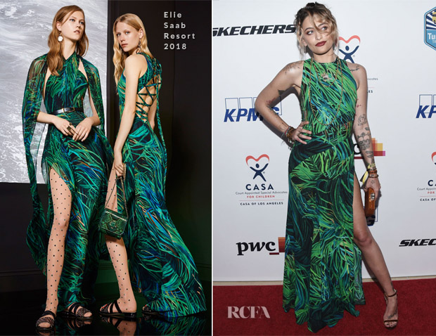 Paris Jackson In Elie Saab - CASA of Los Angeles' 2018 Evening to Foster Dreams Gala