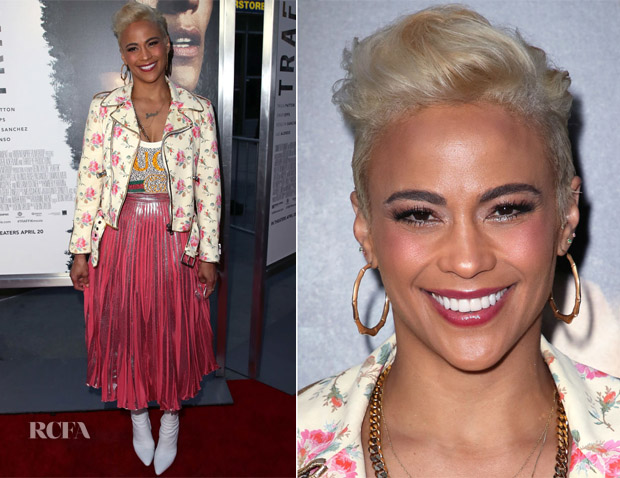 Paula Patton In Gucci - 'Traffik' LA Premiere