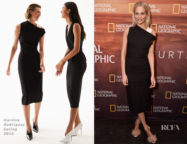 Poppy Delevingne In Narciso Rodriguez - 2018 National Geographic Upfront