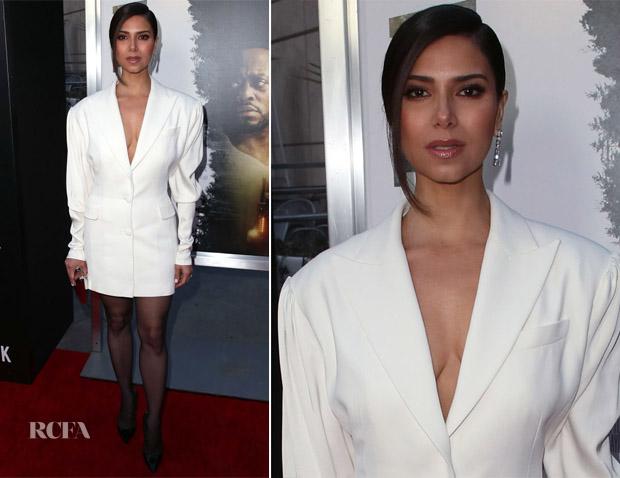 Roselyn Sanchez In Magda Butrym - 'Traffik' LA Premiere