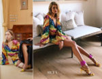Rosie Huntington Whiteley In Attico - Attico x Forward by Elyse Walker Brunch