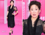 Sandra Oh In Simone Rocha - 'Killing Eve' Cannes International Series Festival Screening