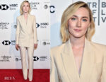 Saoirse Ronan In Michael Kors Collection - 'The Seagull' Tribeca Film Festival Premiere
