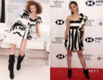 Sasha Lane In Valentino - 'Miseducation of Cameron Post' Tribeca Film Festival Premiere