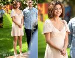 Selena Gomez In Miu Miu -  'Hotel Transylvania 3: Summer Vacation' LA Photocall