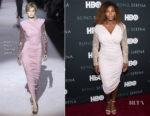 Serena Williams In Tom Ford - 'Being Serena' New York Premiere