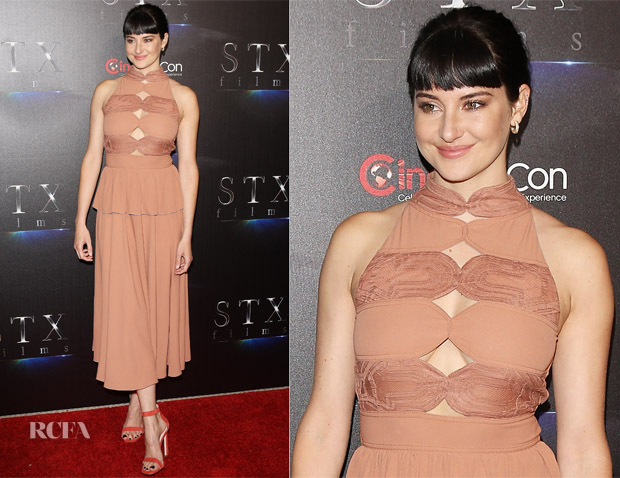 Shailene Woodley In Bottega Veneta - CinemaCon Presentation Of 'Adrift'