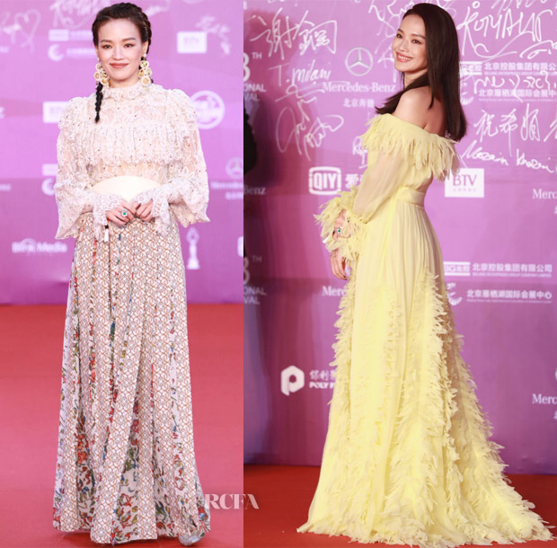 Shu Qi In Elie Saab & Blumarine - 2018 Beijing International Film Festival Closing Ceremony