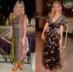 Sienna Miller In Christian Dior & Valentino - Formula E Cocktail Party & Gala Dinner
