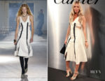 Sienna Miller In Proenza Schouler -  'Bold & Fearless' Santos de Cartier Watch Launch
