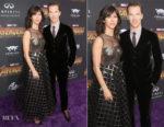 Sophie Hunter In Christian Dior & Benedict Cumberbatch In Giorgio Armani - 'Avengers: Infinity War' LA Premiere
