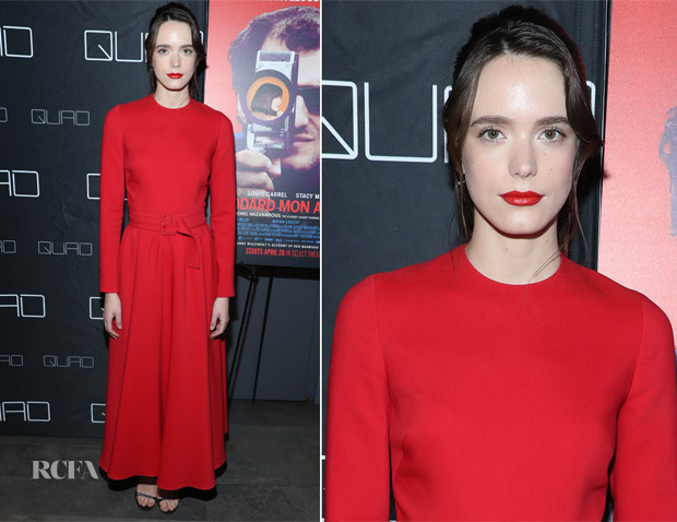 Stacey Martin In Christian Dior - 'Godard Mon Amour' New York Premiere