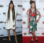 Storm Reid In Maggie Marilyn & Diane von Furstenberg - Marie Claire's 5th Annual 'Fresh Faces'  & All It Takes Lasting Legacy Event
