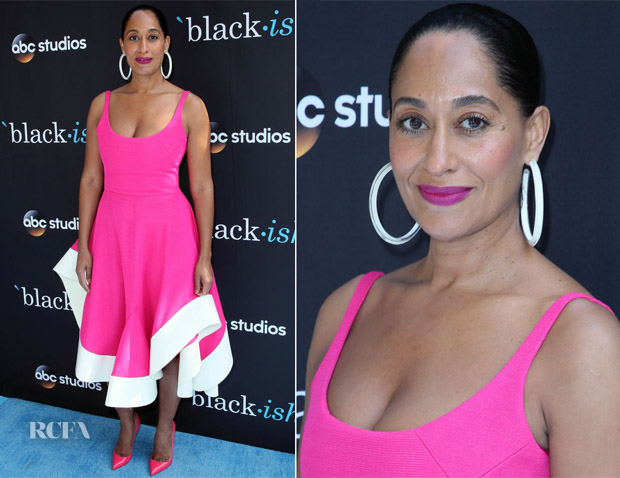 Tracee Ellis Ross In Esteban Cortazar Fyc Event For Abc S Blackish