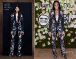Winnie Harlow In Zuhair Murad - Holt Renfrew Knot On My Planet Gala