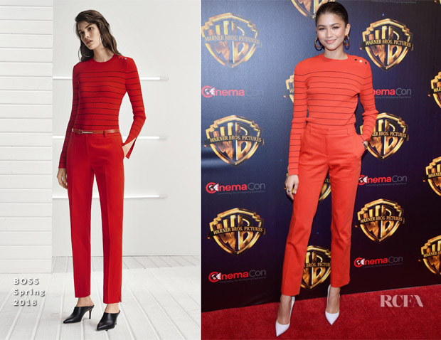 Zendaya Coleman In BOSS - 'The Big Picture' CinemaCon Presentation of 'Smallfoot'