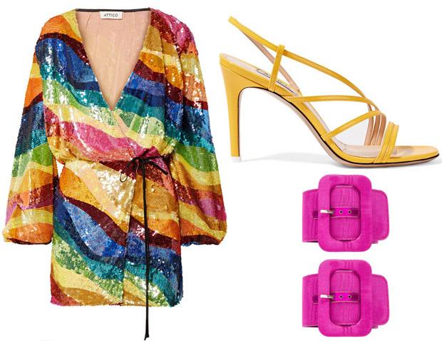 Rosie Huntington Whiteley Red Carpet Fashion Awards