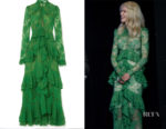 Nicole Kidman's Erdem Kimber Ruffled Lace Gown