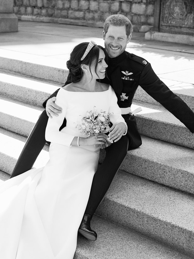 Prince Harry and Meghan Markle's Official Wedding Portraits
