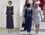 Abigail Spencer In Alessandra Rich - Prince Harry & Meghan Markle's Royal Wedding