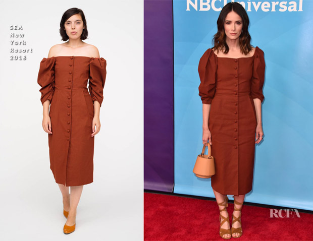 Aail Spencer In Sea New York Nbcuniversal S Summer Press Day Timeless