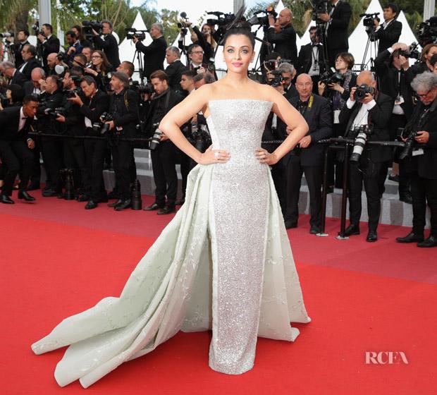 Aishwarya Rai Bachchan In Rami Kadi Couture Sink Or Swim Le