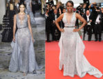 Aja Naomi King In Zuhair Murad Couture - 'Sorry Angel (Plaire, Aimer Et Courir Vite)' Cannes Film Festival Premiere