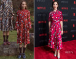 Alison Brie In Erdem - #NETFLIXFYSEE For Your Consideration Event: 'Glow'