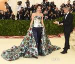 Amal Clooney In Richard Quinn - 2018 Met Gala