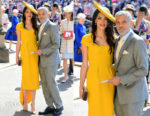 Amal Clooney In Stella McCartney - Prince Harry & Meghan Markle's Royal Wedding