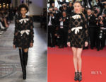 Amber Heard In Giambattista Valli Haute Couture - 'Girls Of The Sun (Les Filles Du Soleil)' Cannes Film Festival Premiere