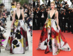 Amber Heard In Valentino - 'Sorry Angel (Plaire, Aimer Et Courir Vite)' Cannes Film Festival Premiere