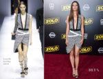 Angela Sarafyan In Lanvin - 'SOLO: A Star Wars Story' LA Premiere