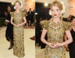 Anya Taylor Joy In Dolce & Gabbana Alta Moda  - 2018 Met Gala