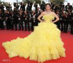 Araya A. Hargate In Giambattista Valli Haute Couture - 'Sink Or Swim (Le Grand Bain)' Cannes Film Festival Premiere