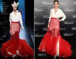 Araya A. Hargate In Jean Paul Gaultier Haute Couture - Chopard Trophée