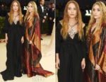 Ashley Olsen & Mary-Kate Olsen In Vintage Paco Rabanne - 2018 Met Gala