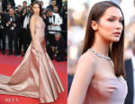 Bella Hadid In Christian Dior Haute Couture - 'Ash Is The Purest White (Jiang Hu Er Nv) Cannes Film Festival Premiere