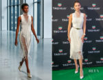 Bella Hadid In Dion Lee - TAG Heuer Grand Prix De Monaco Party