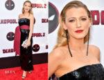 Blake Lively In Brandon Maxwell - 'Deadpool 2' New York Screening