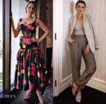 Blake Lively In Michael Kors Collection, Ralph Lauren & Zimmermann - 'A Simple Favor' Promo Tour