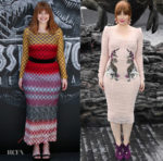 Bryce Dallas Howard In Missoni and Dolce & Gabanna'Jurassic World: Fallen Kingdom' Madrid & London Photocall
