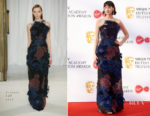 Caitriona Balfe In Delpozo - Virgin TV BAFTA Television Awards