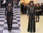 Cara Delevingne In Christian Dior Couture - 2018 Met Gala