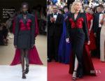 Cate Blanchett In Alexander McQueen - 'The Man Who Killed Don Quixote' Cannes Film Festival Premiere & Closing Ceremony