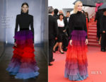 Cate Blanchett In Givenchy Haute Couture - 'Blackkklansman' Cannes Film Festival Premiere