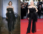 Cate Blanchett In Givenchy Haute Couture - 'Capharnaum' Cannes Film Festival Premiere