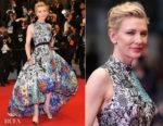 Cate Blanchett In Mary Katrantzou - 'Cold War (Zimna Wojna)' Cannes Film Festival Premiere