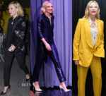 Cate Blanchett Suits Up For 'Ocean's 8'