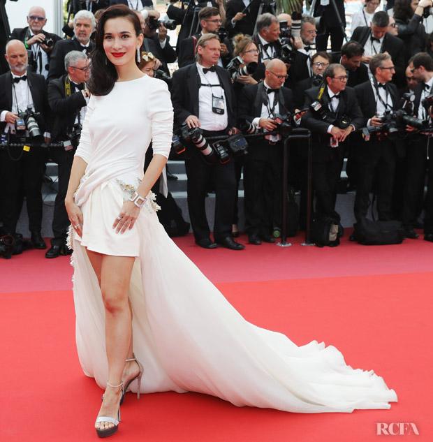 Celina Jade At 2018 Cannes Film Festival Red Carpet Fashion Awards